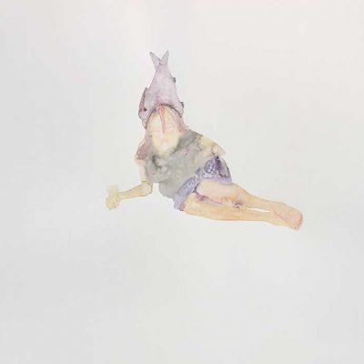 She swims in the fluid freedom -III-Avishek-Sen