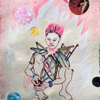Maker of Planets-Chitra Ganesh