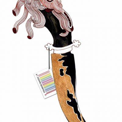 Dagger with Saffron Venom-Pala