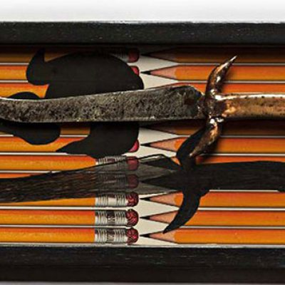 Dagger on tray-Pala