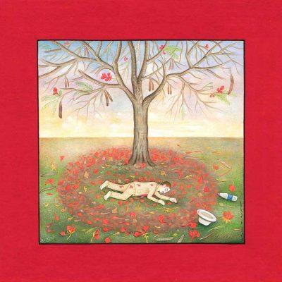 Untitled (Gulmohar Tree)-Waswo