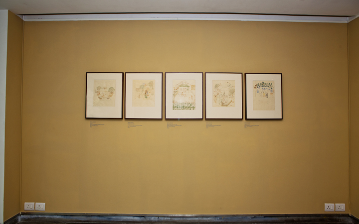 Installation of Narratives of the Self Autobiography (1)
