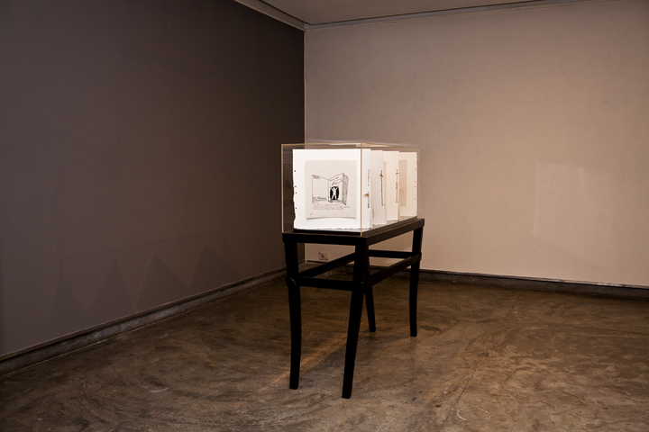 Installation of Narratives of the Self Autobiography (11)