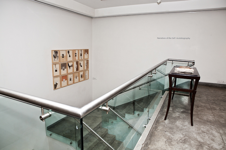 Installation of Narratives of the Self Autobiography (2)