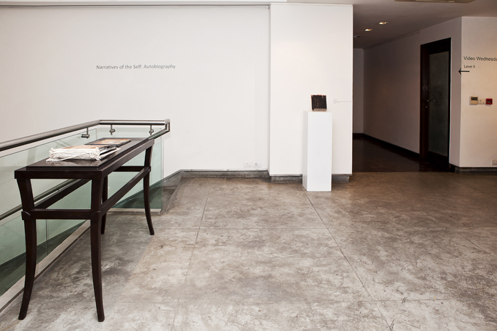 Installation of Narratives of the Self Autobiography (3)