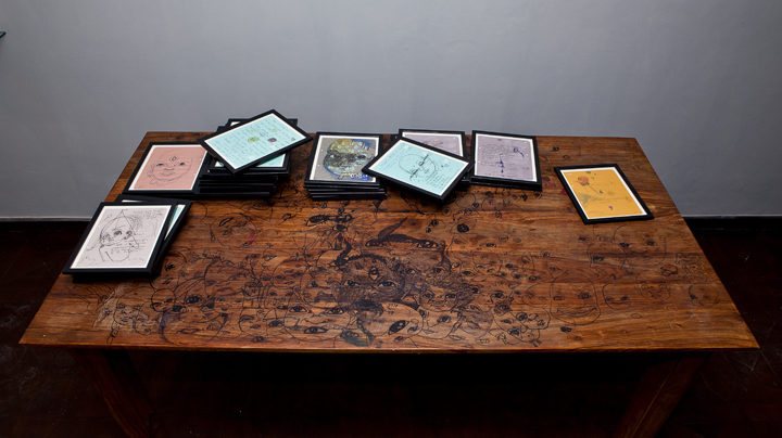 Installation of Narratives of the Self Autobiography (40)