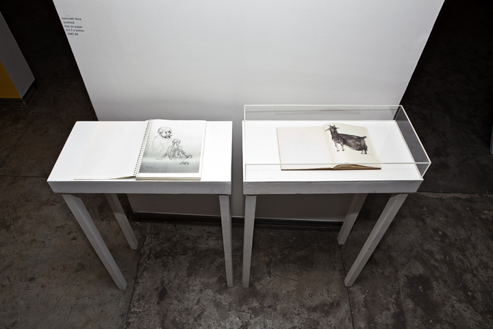 Installation of Narratives of the Self Autobiography (42)