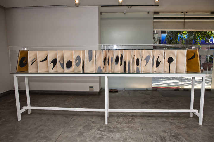 Installation of Narratives of the Self Autobiography (43)