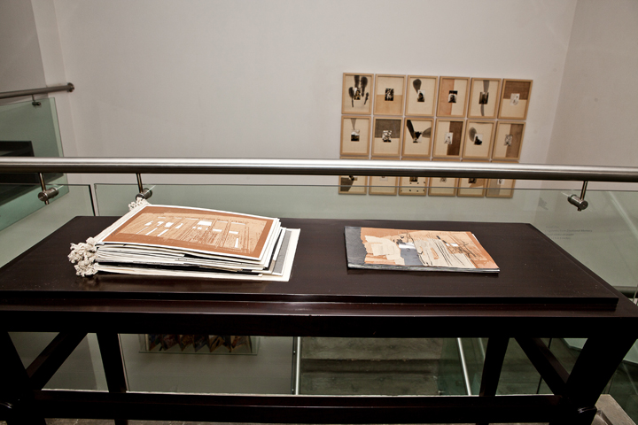 Installation of Narratives of the Self Autobiography (5)