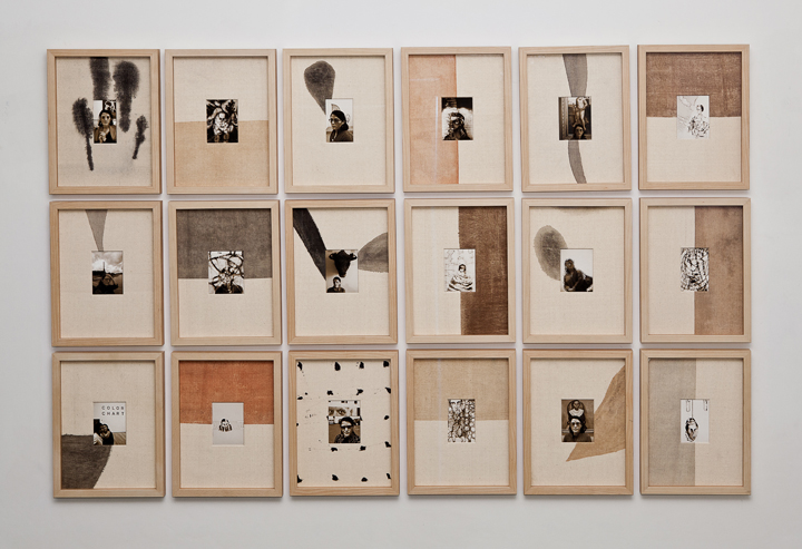 Installation of Narratives of the Self Autobiography (6)