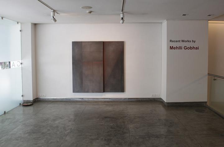 Installation shoot of Mehlli Gobhai show (1)